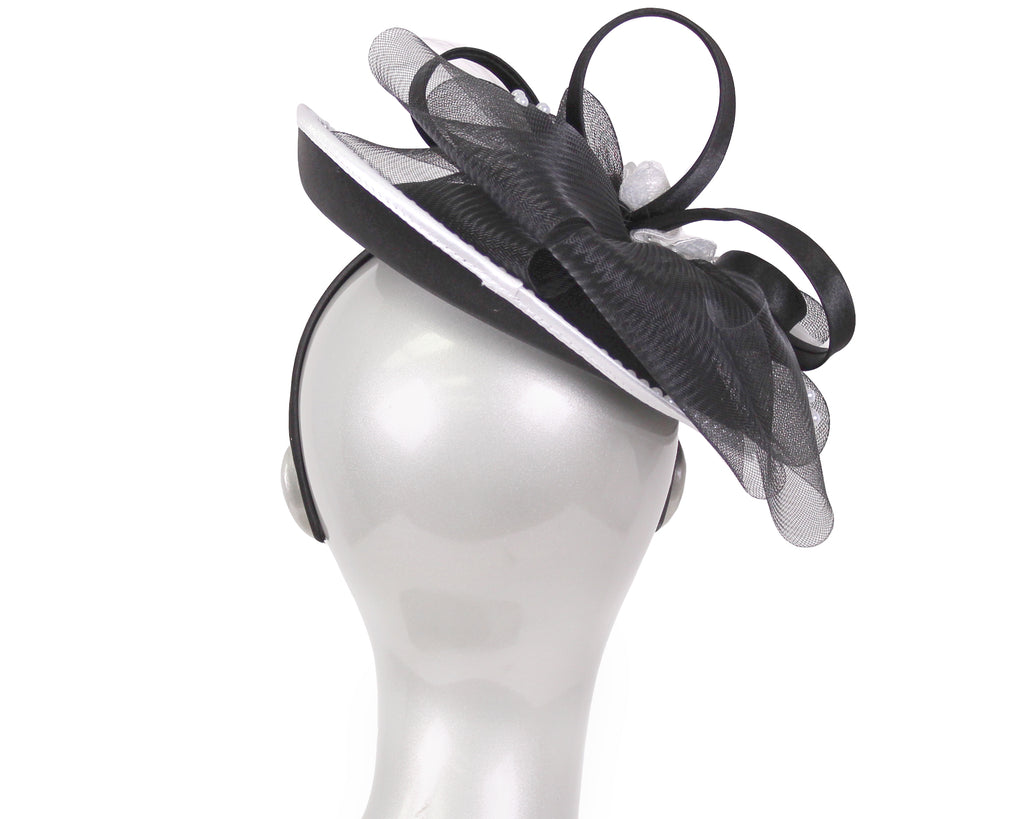 NEW-Women's Satin Church Fascinator Hats - HL163