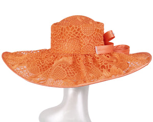Women's Wide Brim Derby Church Hats - HL169