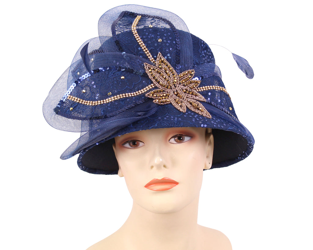 NEW - Women's Year-round Church Hats - HL175