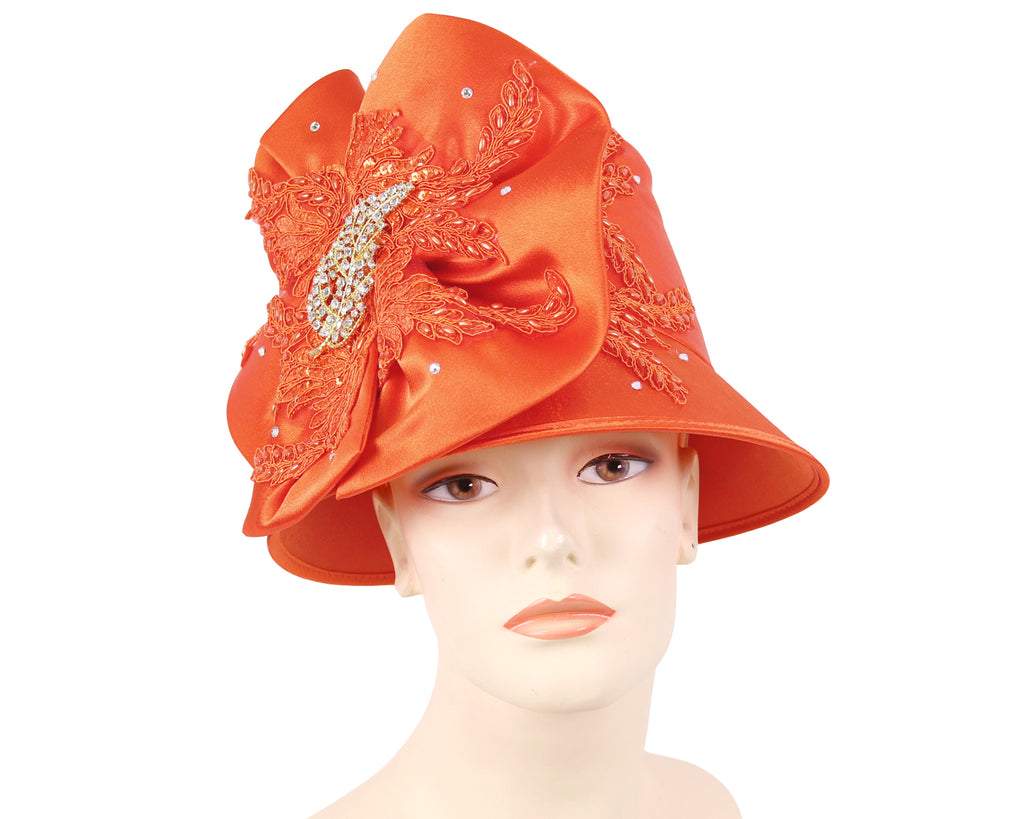 NEW - Women's Satin Church Derby Hats - HL176