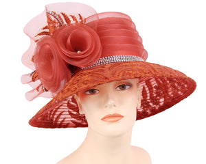NEW - Women's Formal Church Derby Hats- HL180