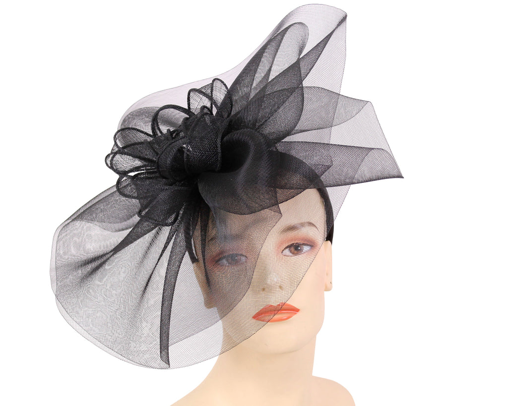 Women's Fascinator Church Derby Hats in Black
