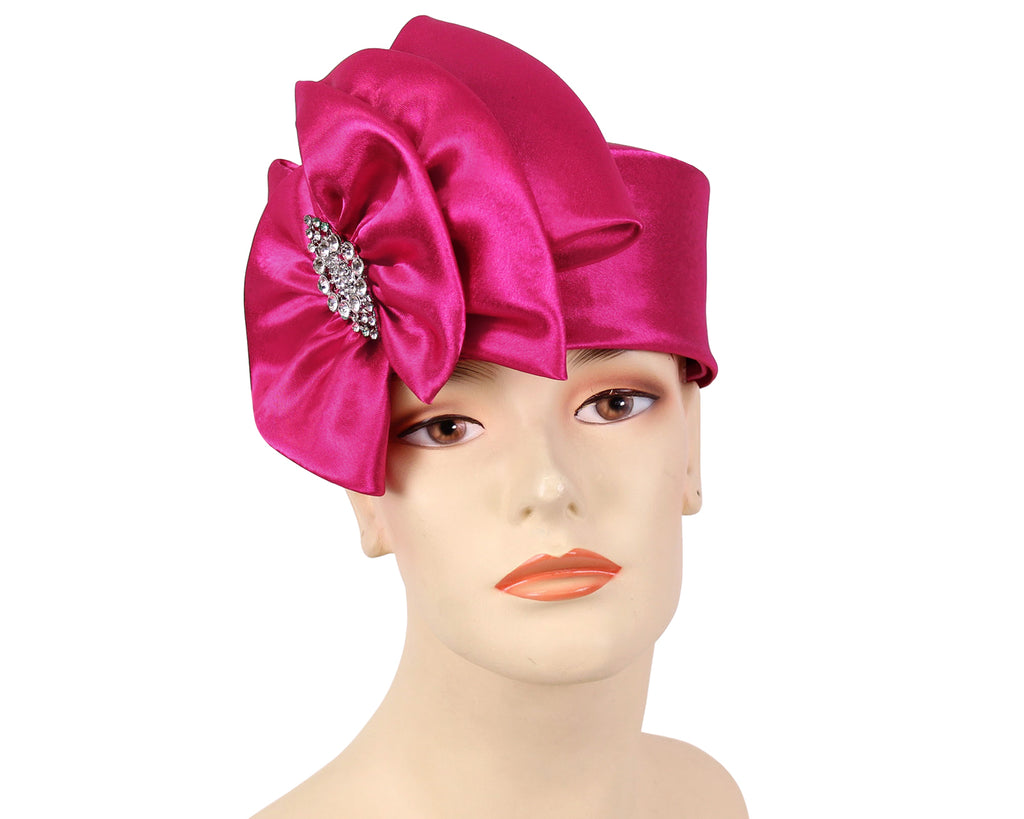 Women's Pill-box Church Hats - K019