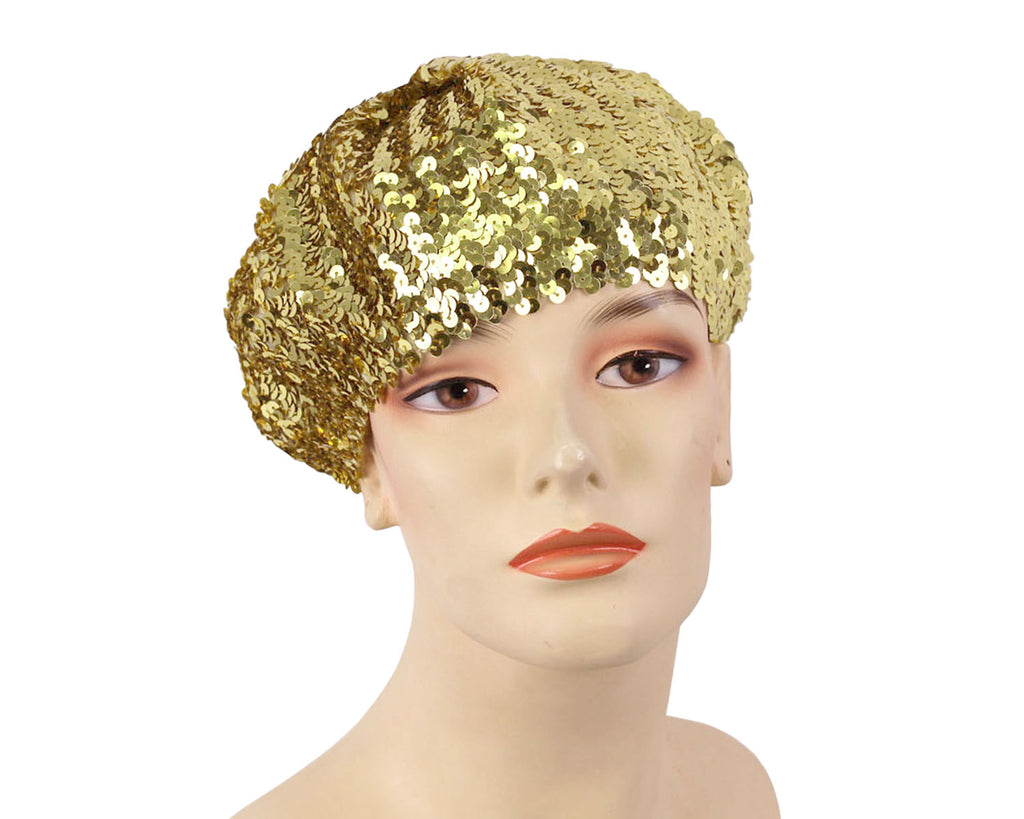 Women's Church Hats in Gold