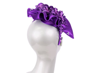 Women's Satin Fascinator Church Hats - GJ56