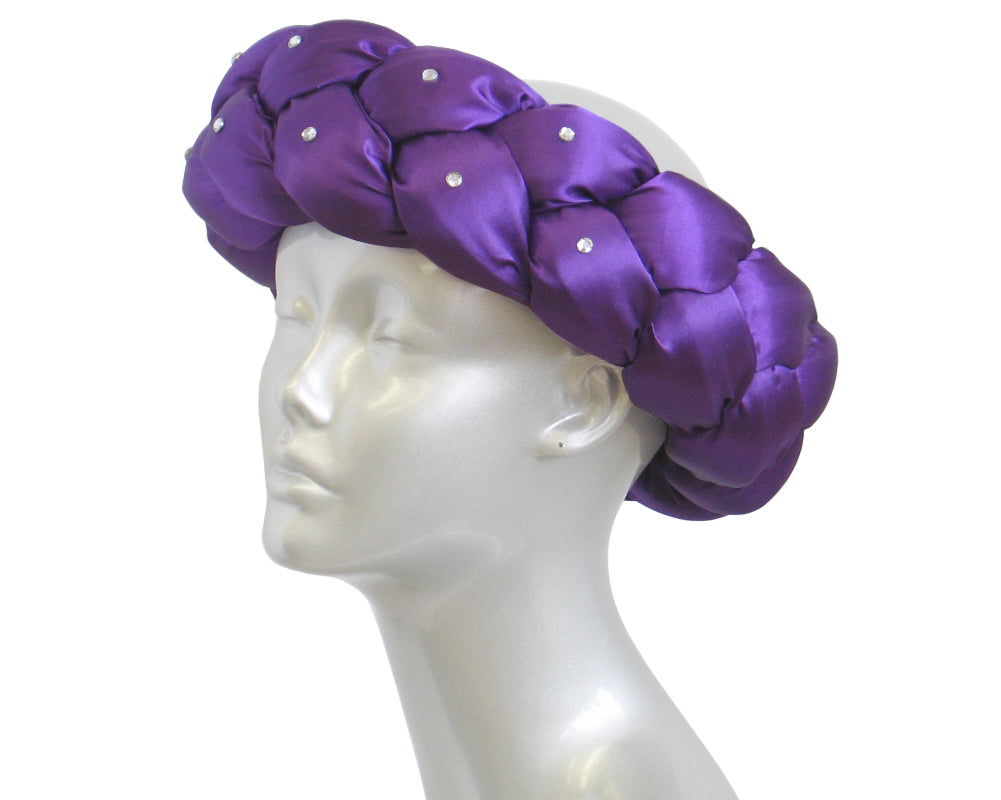 Women's Church Ring Hats in Purple