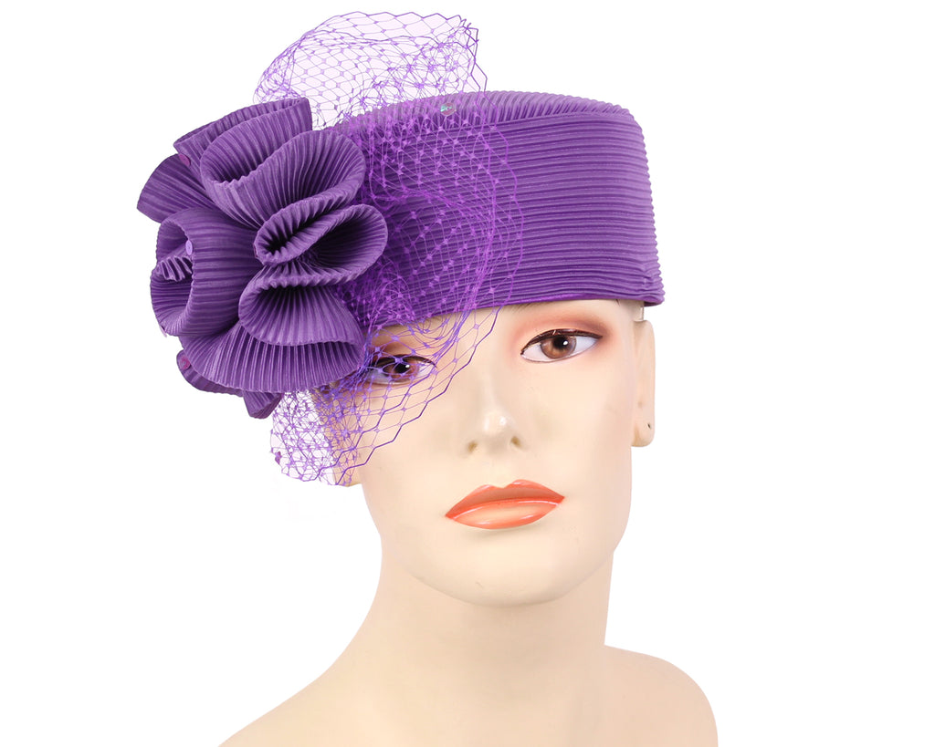 Women's Pillbox Church Hats - K014