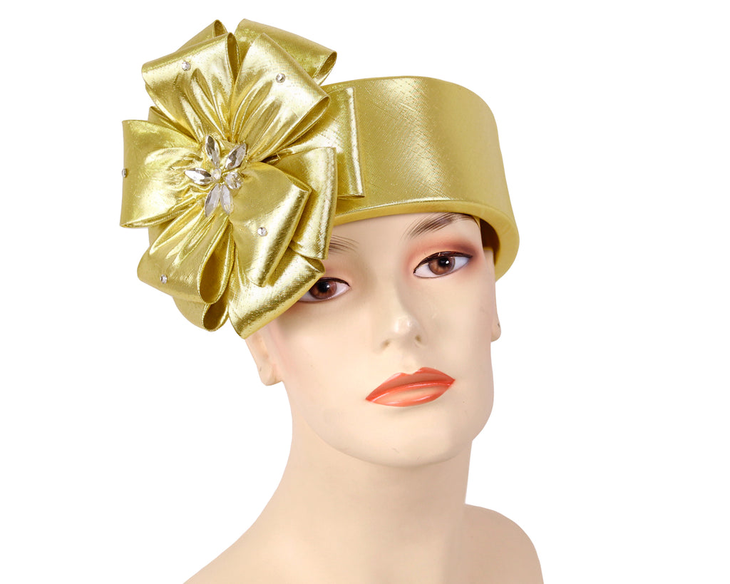 Women's Church Ring Hats in Gold
