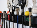 HOOK ATTACHMENTS (2-Pack):  Compatible with the Multi-Sport Stick Rack & Organizer