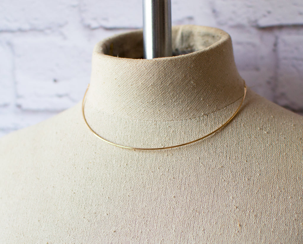 Dainty  collar necklace