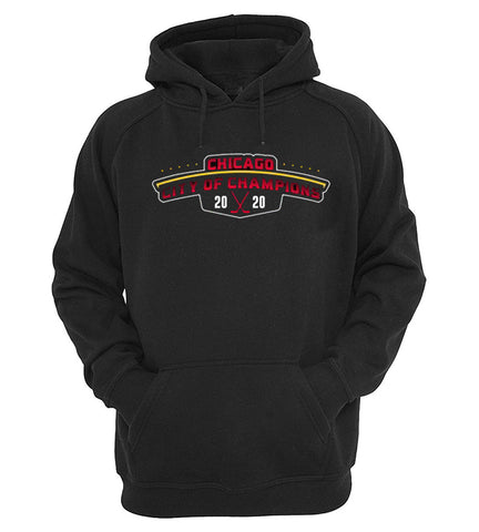 CITY OF CHAMPIONS® Chicago Hockey Hoodie