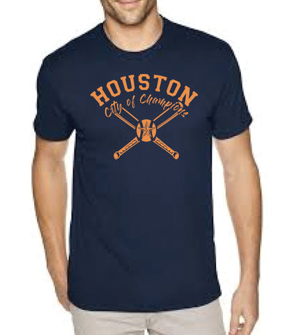 MARK CUBAN CITY OF CHAMPIONS® Houston Baseball Tee