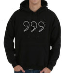 Three Commas Outline Hoodie