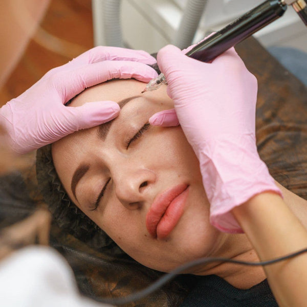 MICROBLADING PERMANENT MAKE-UP (MACHINE & HAND METHOD) Simple Product Dermaesthetics Beverly Hills