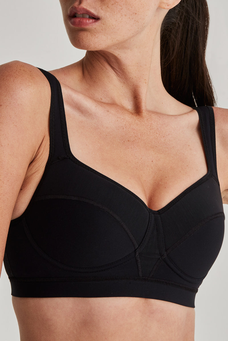 Cool Back Bra - Mission Statement Apparel