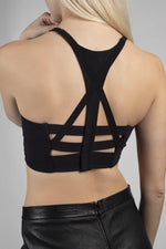 Triple Back Bra - Mission Statement Apparel