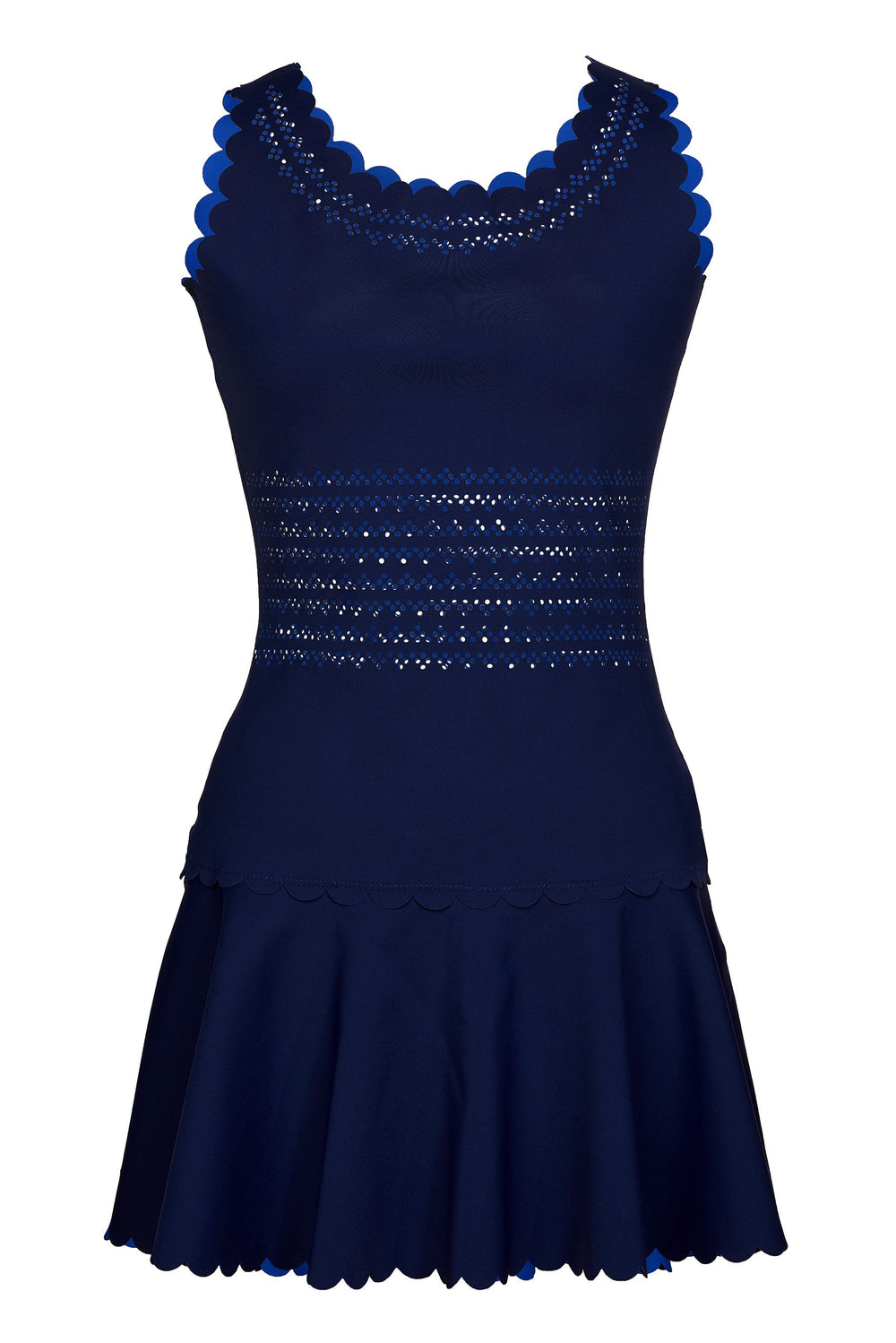 Navy Blue Reverse Side Royal Blue