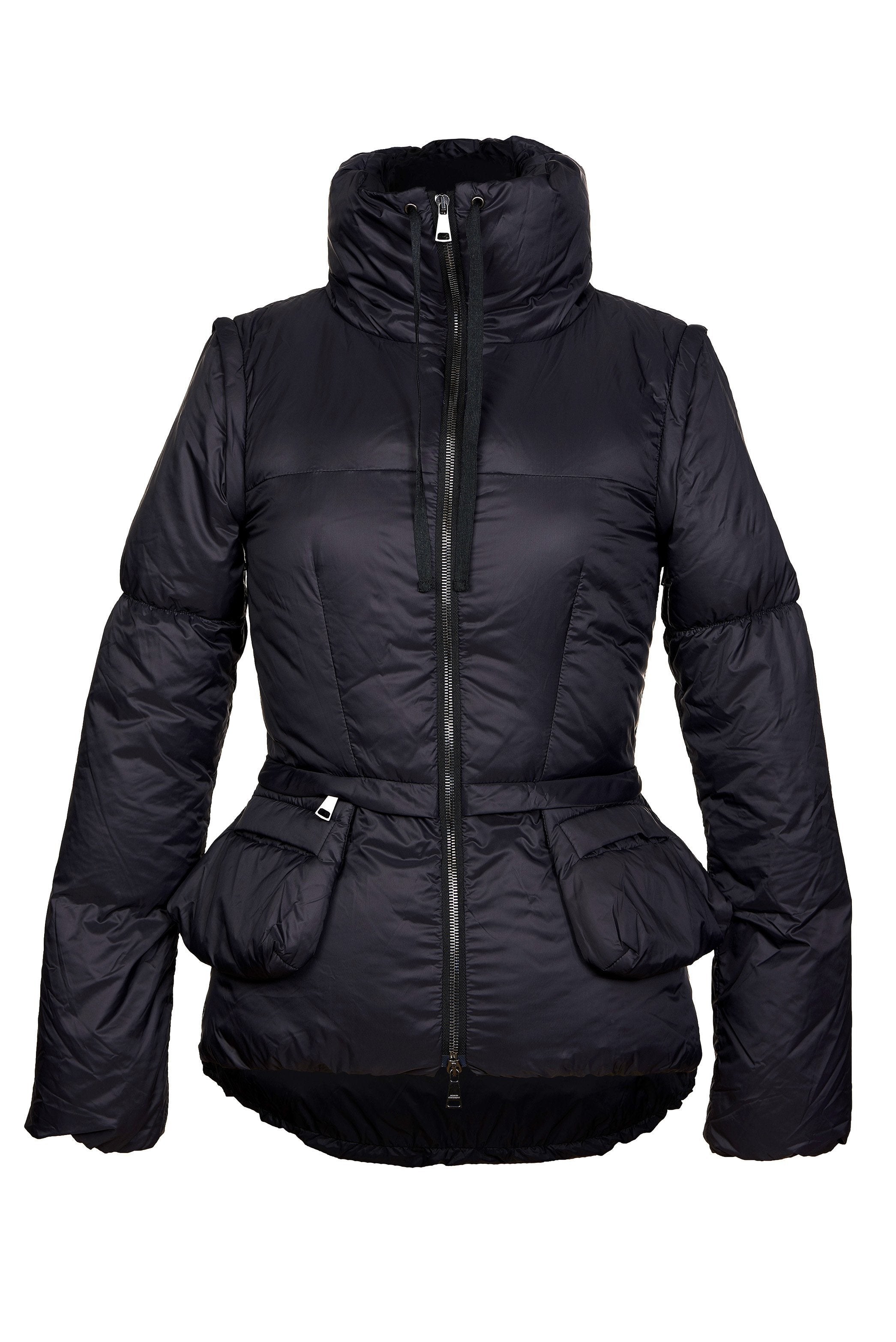 A sleek puffer jacket pictures