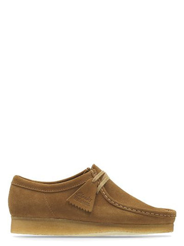 Wallabee Shoe - Cola Brown Suede