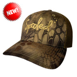 Spooled Tan Brown Kryptek Brown Mesh Snapbacks