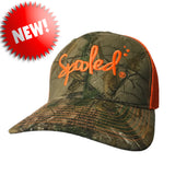 Spooled Realtree Xtra® Camo with Orange Mesh Snapback