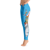 Spooled Florida Flag Blue Leggings
