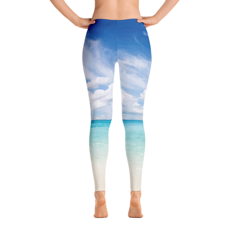 Panama City Beach Leggings