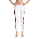 Spooled Florida Flag White Leggings