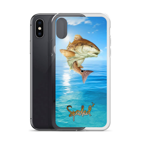Spooled Redfish on the Water iPhone Case