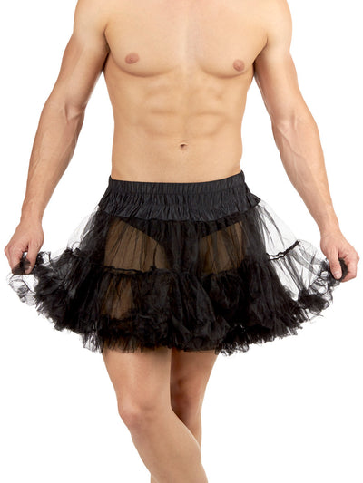 Full Tulle Petticoat Black