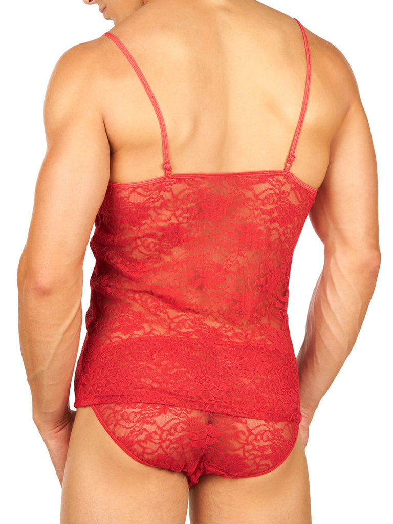 Secret Satin Camisole Red