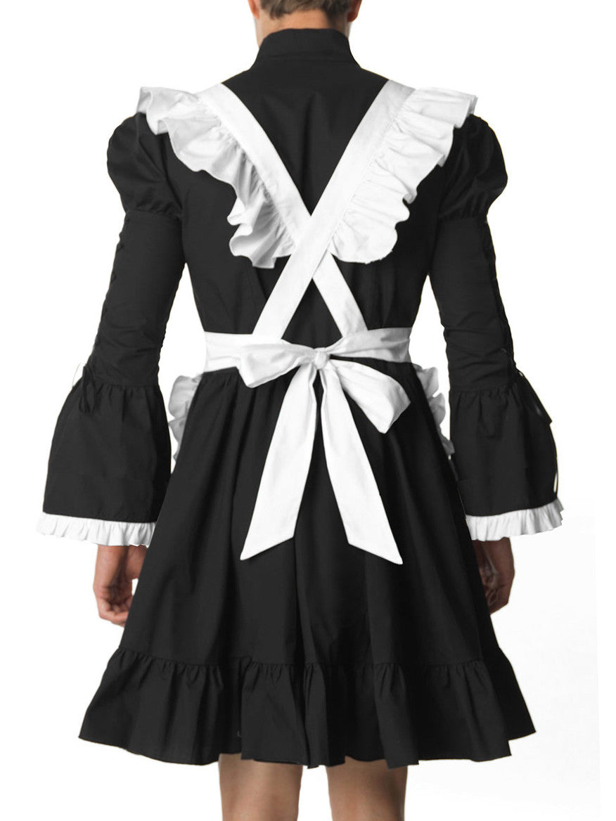 Elegant Gothic Lolita Maid Dress