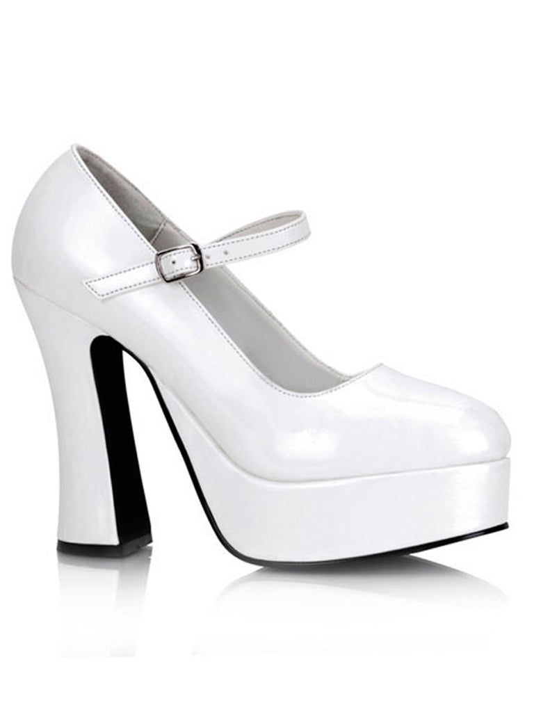 Mary Jane Platform Shoe Snow White