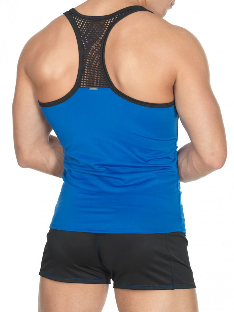 Yoga Athletic Top Royal Blue