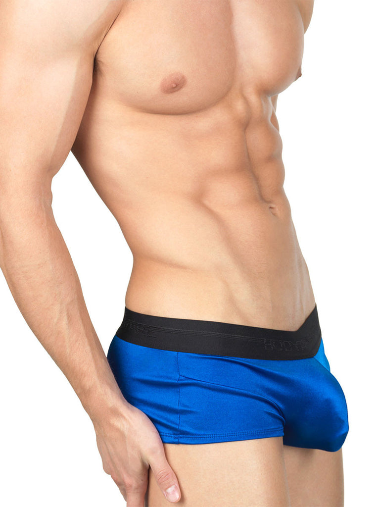 The Smooth Satin BodyBoxer Navy Blue