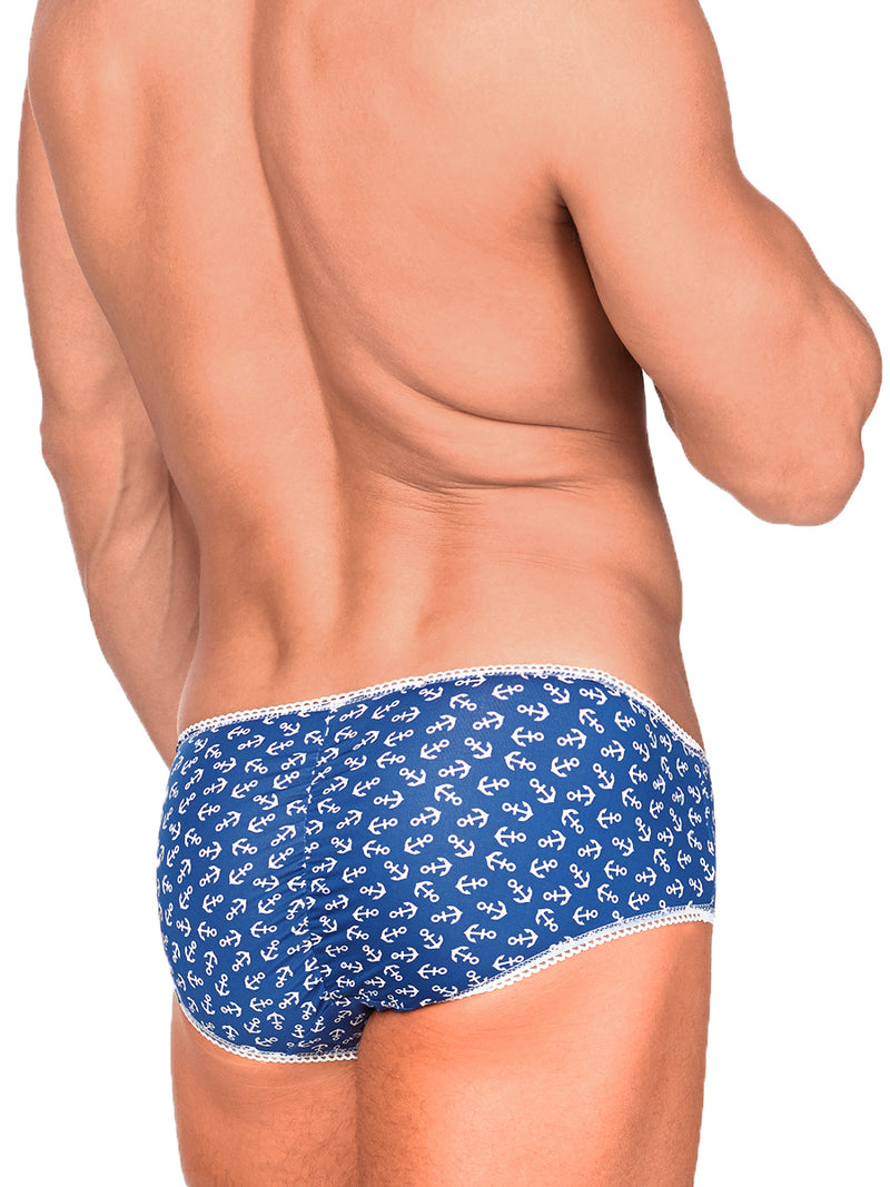 Men's Anchor Pattern Panties