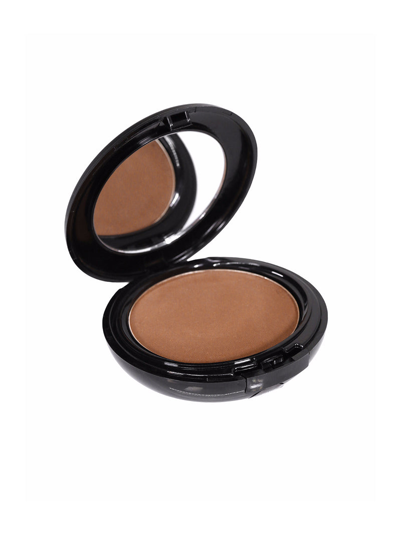 Men's brown powder foundation mirror compact cosmetics makeup