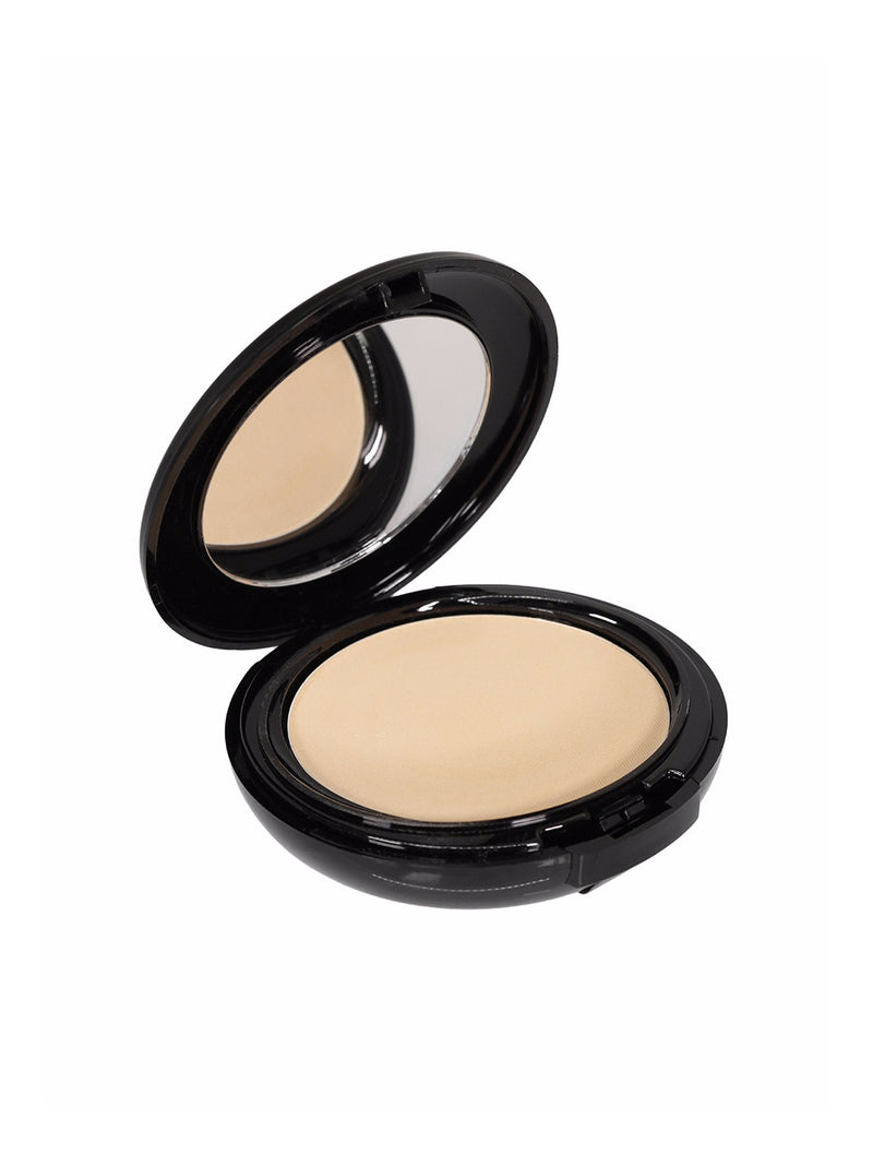 Men's beige powder foundation mirror compact cosmetics makeup
