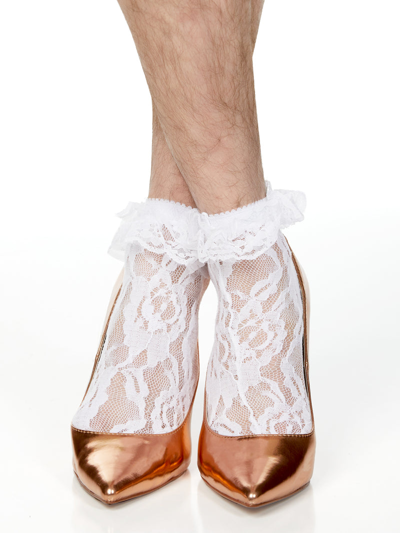 Frilly Lace Anklet Sock