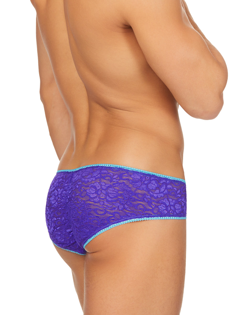 The Indigo Lace Panty