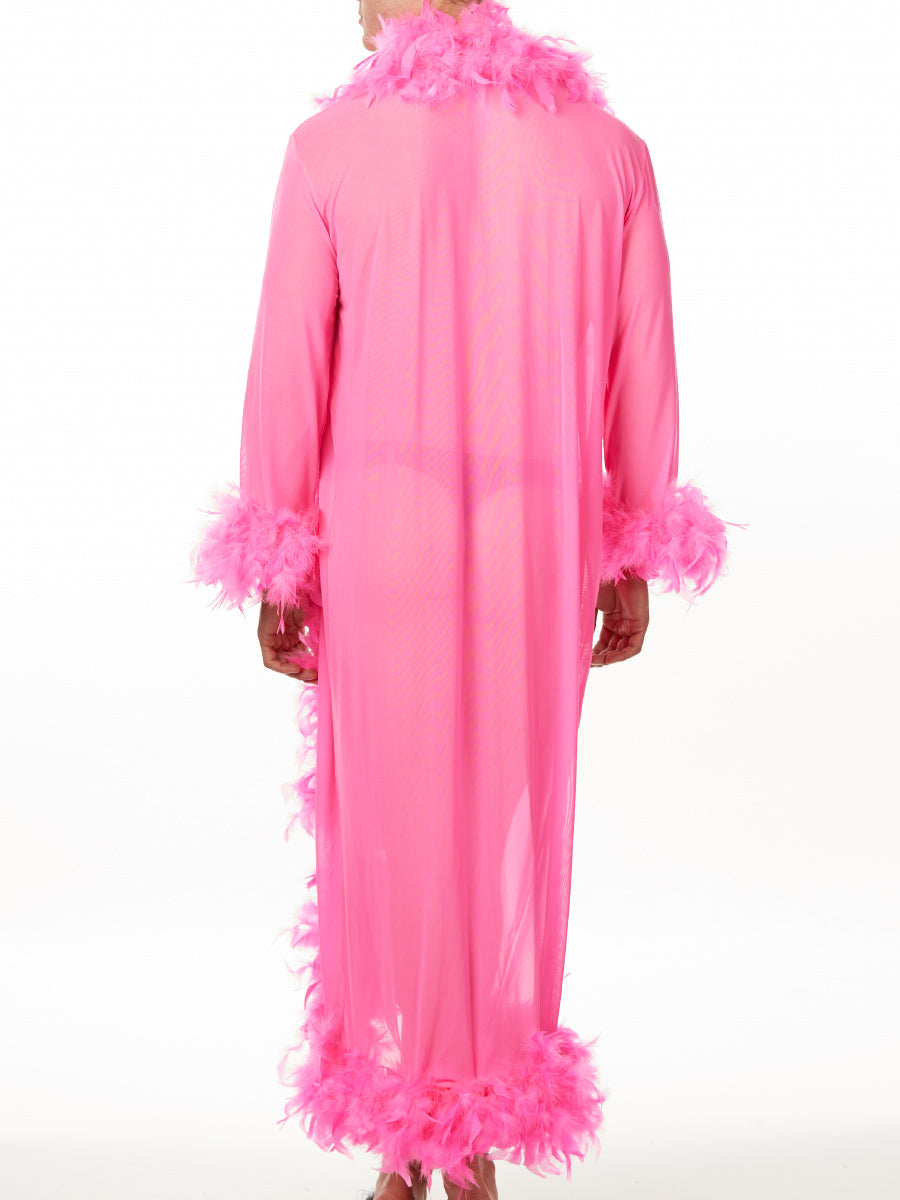 Fabulous Feather Dressing Gown