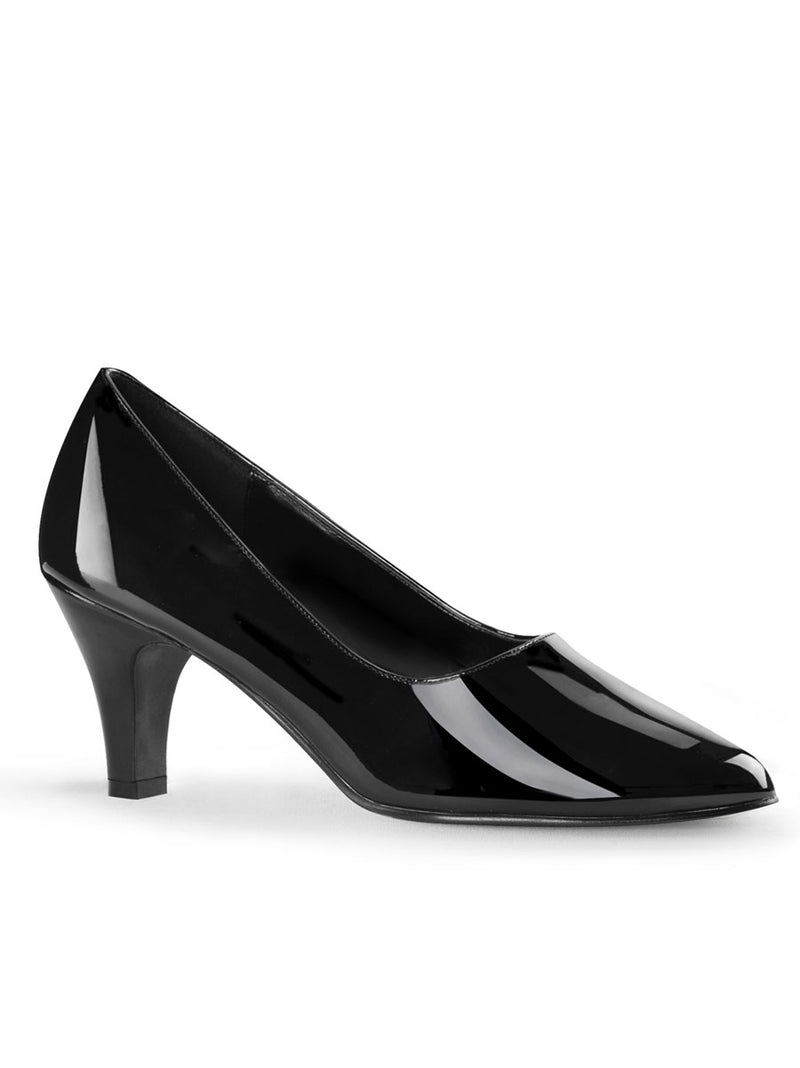 Men's Wide High Heel Shoes