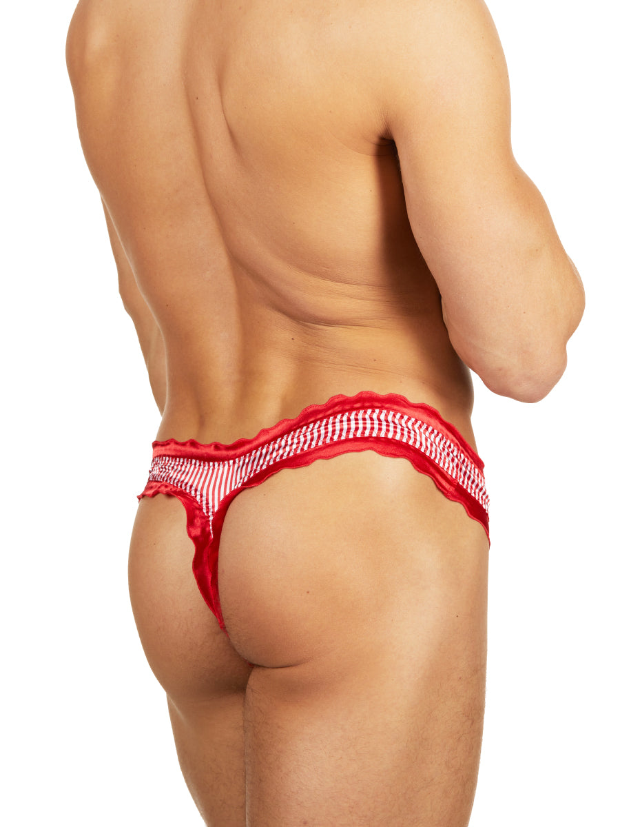 Peppermint Frill Thong