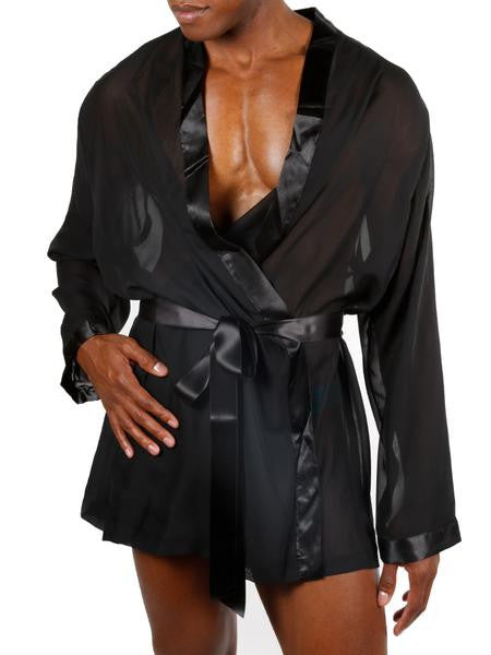 Simply Luxurious Chiffon Robe