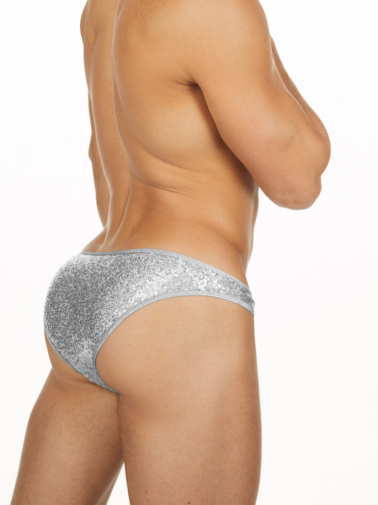 Disco Ball Cheeky Brief
