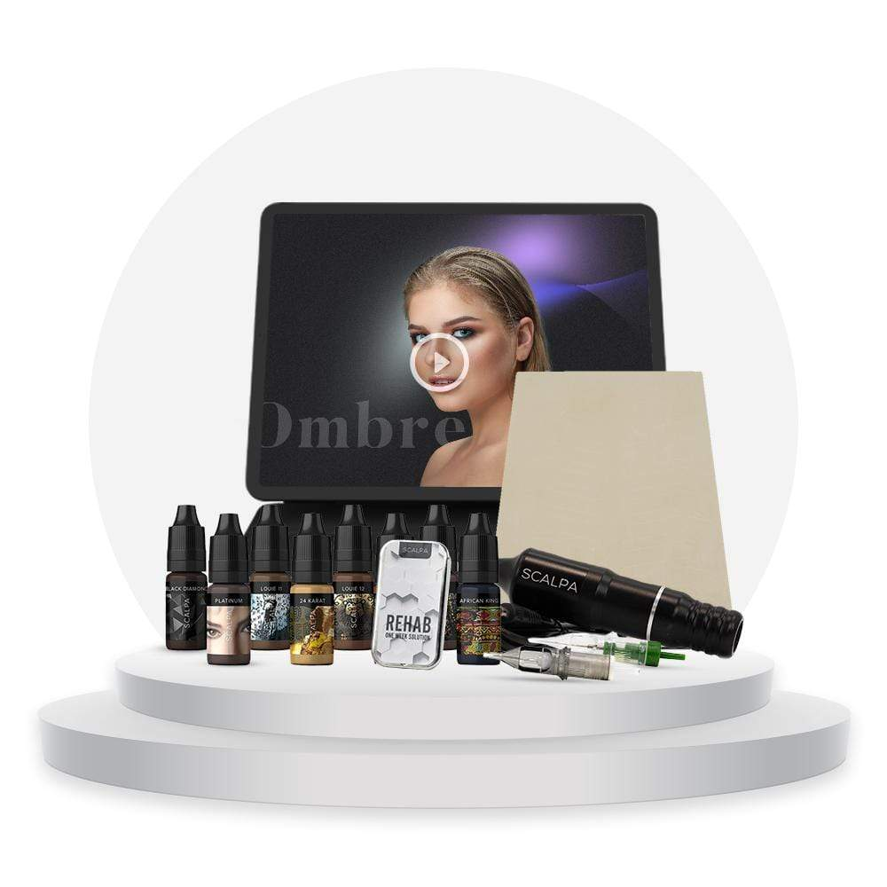 Advanced Ombre/Shading Brow Training Kit FB - Scalpa Shop