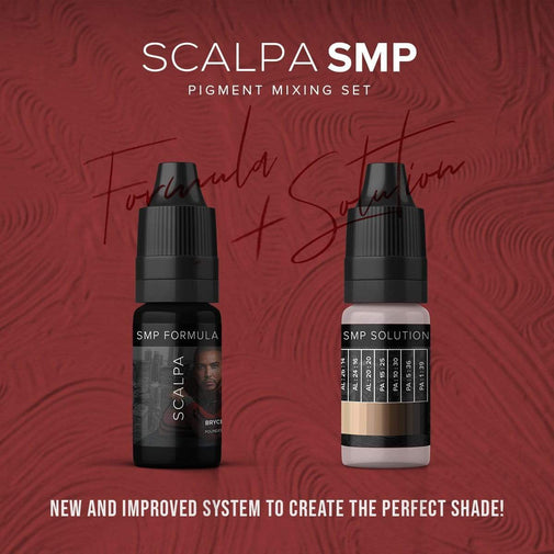 SMP Ink/Pigment Formula and Mixing Solution