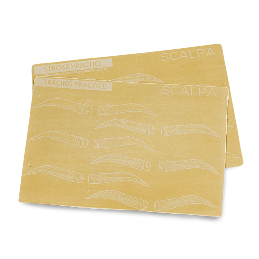 Synthetic Practice Brow Skin (Stroke and Trace) - Scalpa Shop