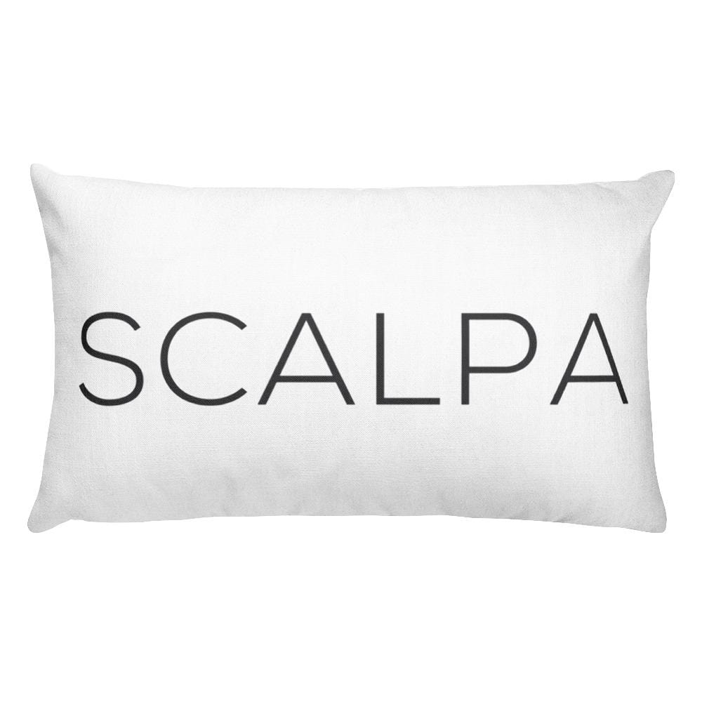 SCALPA Throw Pillow - Scalpa Shop