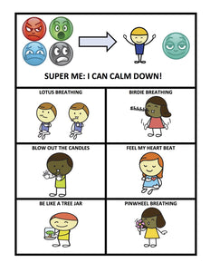 Super Me Calm Down Poster